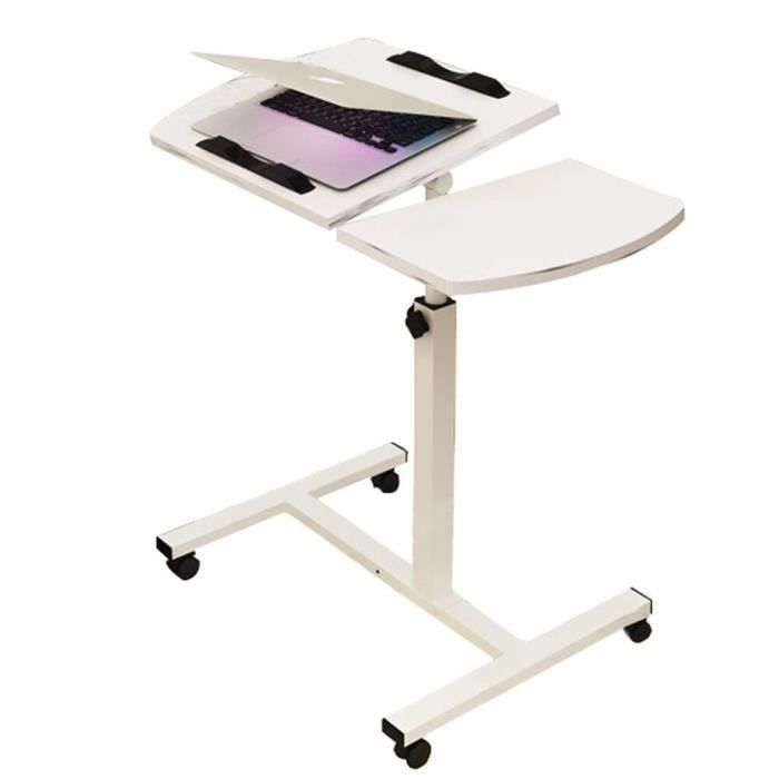 Table ordinateur portable roulettes table de lit hauteur for Mobile porta pc ikea