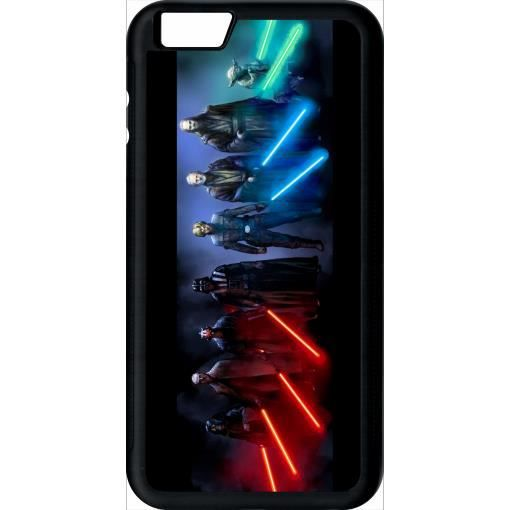 coque apple iphone 6 plus star wars family