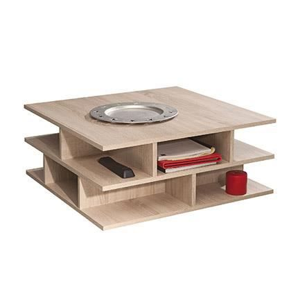 Table Basse Multicases Ch Ne Naturel Achat Vente