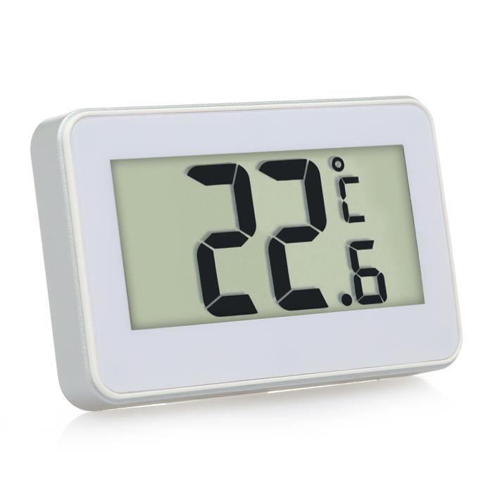 Hygiplas Réfrigérateur Congélateur Thermomètre Affichage Température Jauge digitale de cuisine