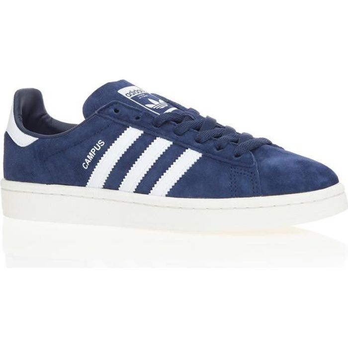 photos officielles f21bd b16dd ADIDAS Baskets Campus - Femme - Bleu marine Bleu marine ...