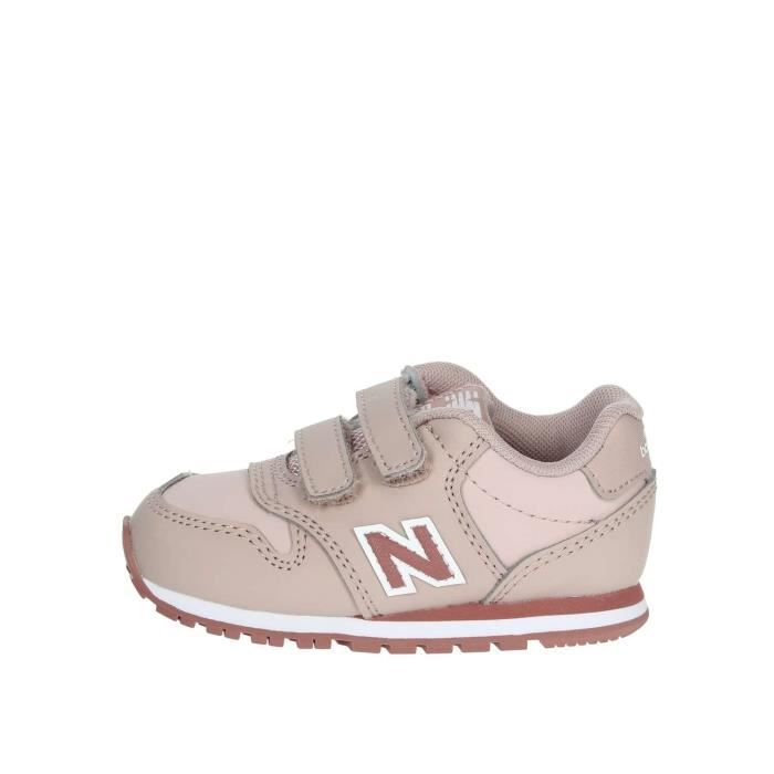 New Balance Petite Sneakers Fille Rose Rose - Cdiscount Chaussures