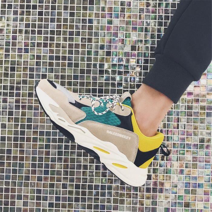 Mode Baskets Homme Chaussures De Marque De Luxe 2019 Classique Personnalité Chaussure Haut qualité Sneakers