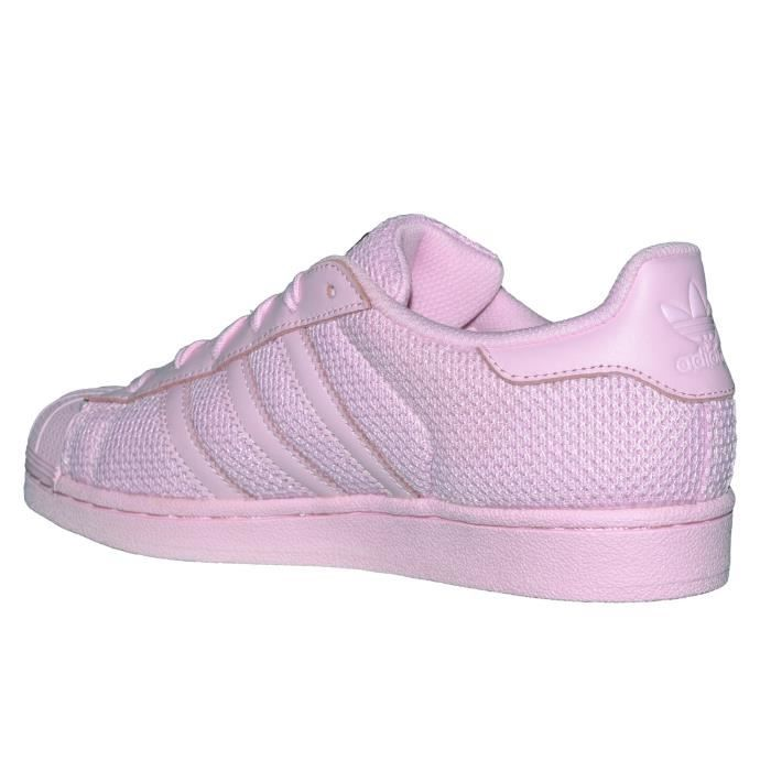 Adidas Originals - Baskets - Superstar J - Rose Rose