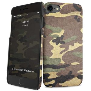 I-PAINT Coque pour iPhone 7 - Camouflage