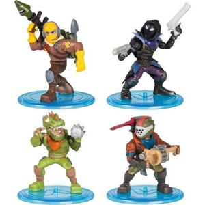FIGURINE - PERSONNAGE FORTNITE Battle Royale -  Pack Squad 4 Figurines