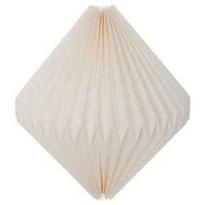 AC-D/éco Lanterne Ovale en Origami D 38 x H 27 cm