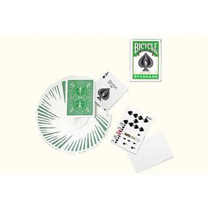 CARTE A COLLECTIONNER Jeu Bicycle à dos Vert (US Playing Card Company)