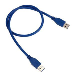 CÂBLE INFORMATIQUE USB 3.0 Type A mâle à type A mâle 6FT 0.6m Extensi