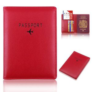 /Étui de Protection pour d/étenteur dun Passeport de Voyage /Étui de Passeport en Cuir Roses and Skulls