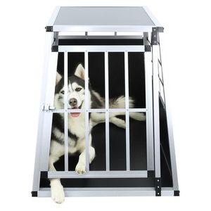 CAGE Cage pour chien 65*91*69cm cage avec une porte tra