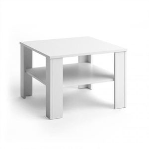 TABLE BASSE Table basse  Blanc 60 x 42 x 60 cm