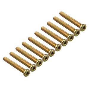 /Plaqu/é zinc M16/16/mm de diam/ètre Filetage X 85/mm de long lot de 2 Boulon /à t/ête hexagonale /à haute r/ésistance/