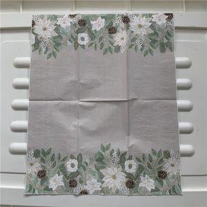 DECOUPI//salle à manger//CRAFT//Vintage//Ivy 4x Tableau unique Serviettes en papier