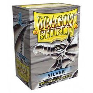 CARTE A COLLECTIONNER Protèges cartes Dragon Shield argent
