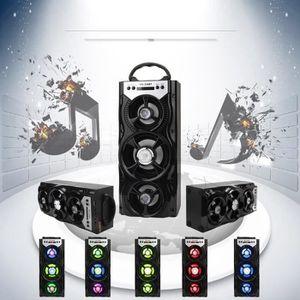 ENCEINTE NOMADE Extérieur Bluetooth portable sans fil Super Bass h