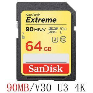 CARTE MÉMOIRE Carte Mémoire SD 64 GB Sandisk - M2457