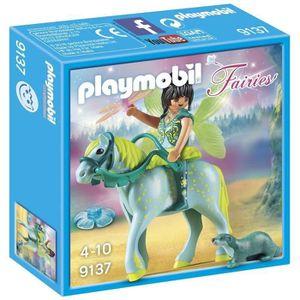FIGURINE - PERSONNAGE PLAYMOBIL Fairies - Fée avec Cheval (Lot de 3)
