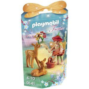 FIGURINE - PERSONNAGE PLAYMOBIL Fairies - Fée avec Faons (Lot de 3)