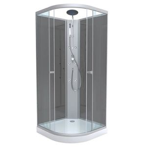 cabine de douche hydromassante achat vente cabine de douche hydromassante pas cher cdiscount. Black Bedroom Furniture Sets. Home Design Ideas