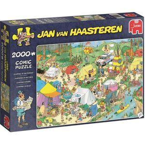 PUZZLE JUMBO Puzzle 2000 pièces Jan van Haasteren