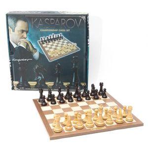 JEU SOCIÉTÉ - PLATEAU Jeu d'échecs pour championnat Kasparov aille Uniqu