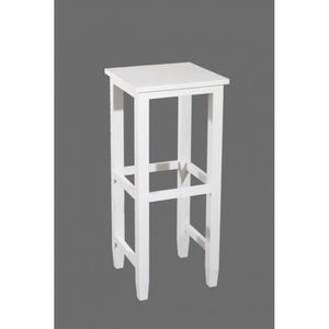 tabouret bois blanc. Black Bedroom Furniture Sets. Home Design Ideas