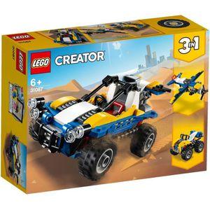 ASSEMBLAGE CONSTRUCTION LEGO® Creator 3-en-1 31087 Le Buggy des dunes - Je
