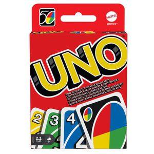 CARTES DE JEU UNO Jeu de cartes - 2 à 10 joueurs - 7 ans et +