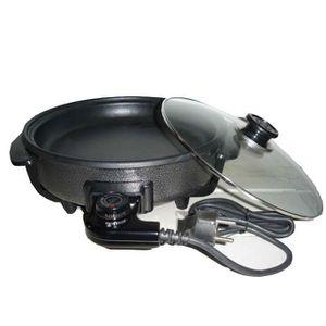MULTICUISEUR Plat de cuisson électrique rond - 1500 w - MIA …