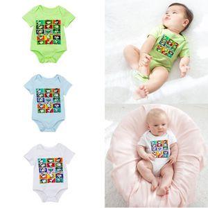BODY Lot de 3 Bodies en Coton pour Bébé Garçon Fille -
