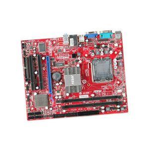 CARTE MÈRE Carte Mère PC MSI MS-7529 MS7529 G31TM-P35 MotherB
