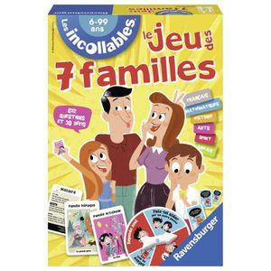 CARTES DE JEU Ravensburger 26624 - Jeu De Cartes - Jeu Des 7 Fam