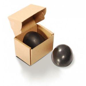 APPAREIL MASSAGE MANUEL 2 pierres de basalte demi-sphère pour massage