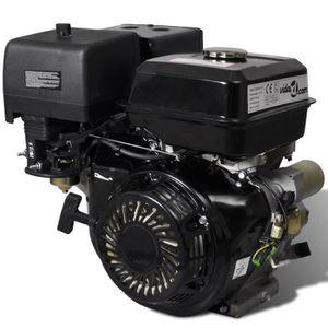 MOTEUR COMPLET Moteur à essence 15 HP 9,6 kW Noir Démarrage élect