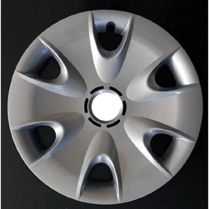 JEU DE 4 ENJOLIVEURS DE ROUES COUVRE 16 -INCH BMW SERIES 1