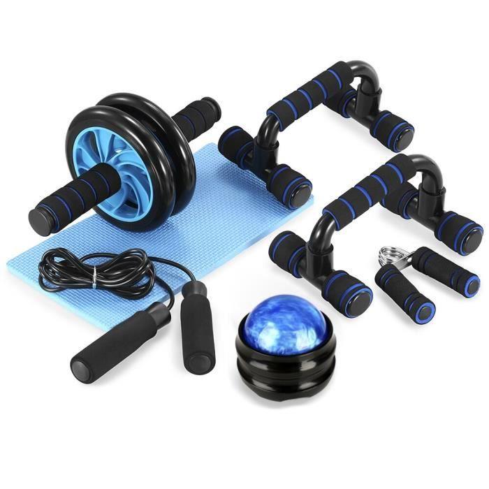 TOMSHOO équipement de Fitness équipement de musculation roue rouleau Kit rouleau Abdominal barre d - Modèle: style 3 - HSJSZHA04652