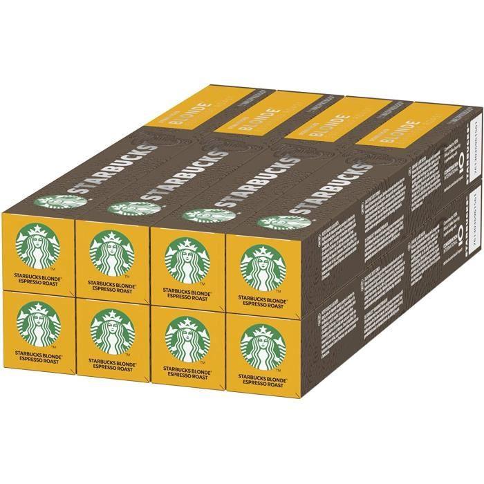 Starbucks Blonde Espresso Roast By Nespresso 8 x 10 capsules (80 capsules)