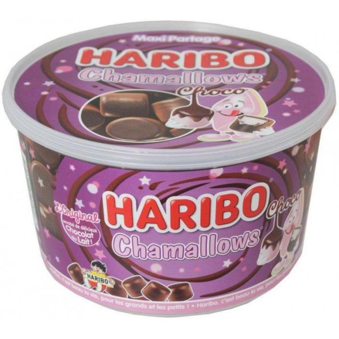 Haribo Chamallow Choco Mégabox (Boîte de 650g)