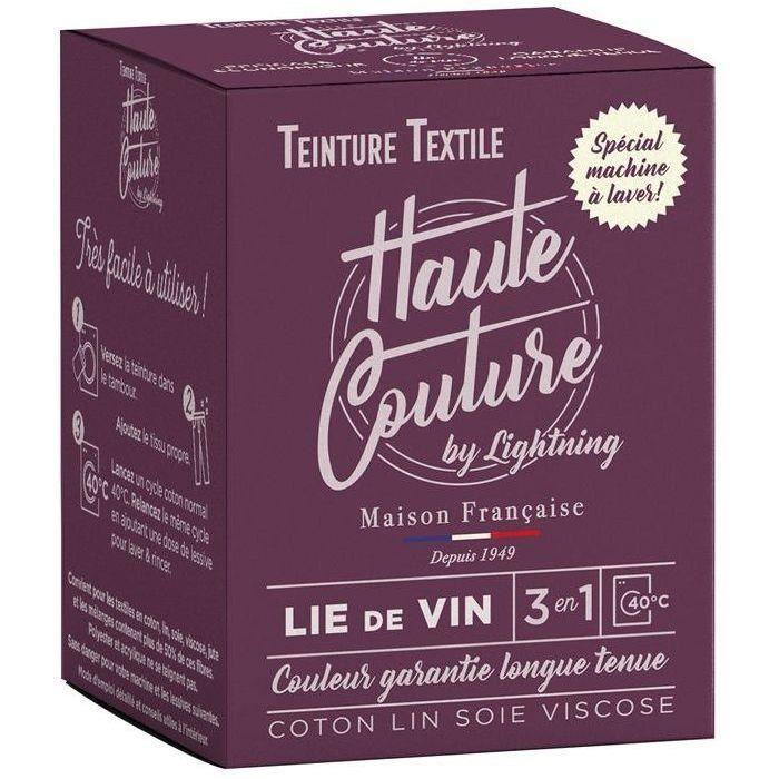 Teinture textile haute couture lie de vin 350g