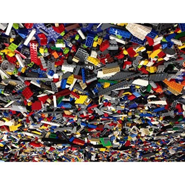 Jeu D'Assemblage LEGO DLCNH 2 livres en vrac Briques - Sélection aléatoire des briques anciennes