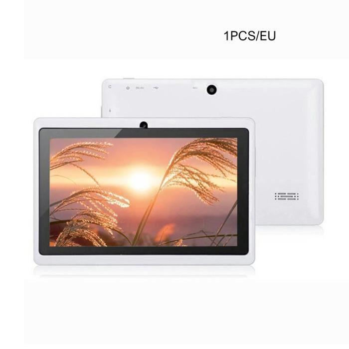 A33 Version WiFi tablette PC écran haute définition jeu de musique divertissement ordinateur de détection de gravité intelligent