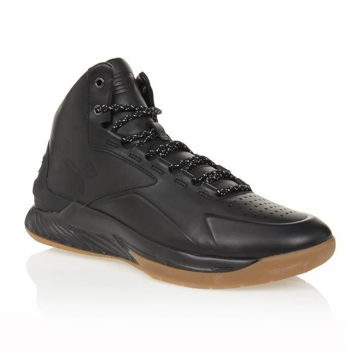 Under Armour Chaussures de Basket UA Curry LUX Mid Leather