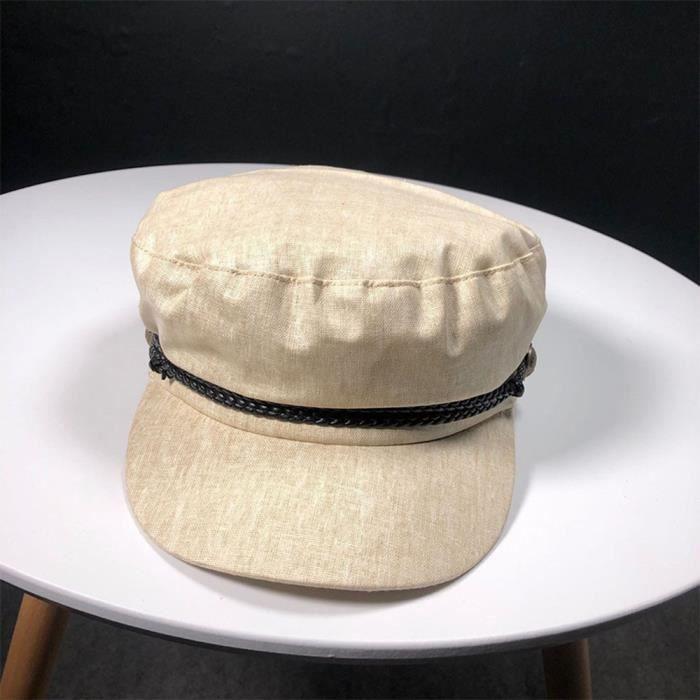 Casquette Gavroche Femme Étudiant Chapeau Mode Filles Octogone Cap Bérets_LR17304