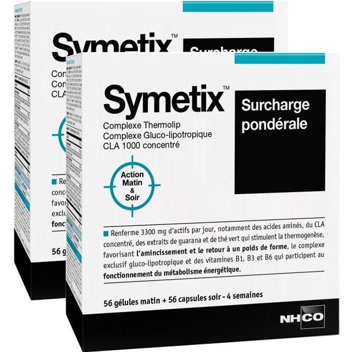 NHCO NUTRITION SYMETIX - Surpoids - 2 x 56 gélules