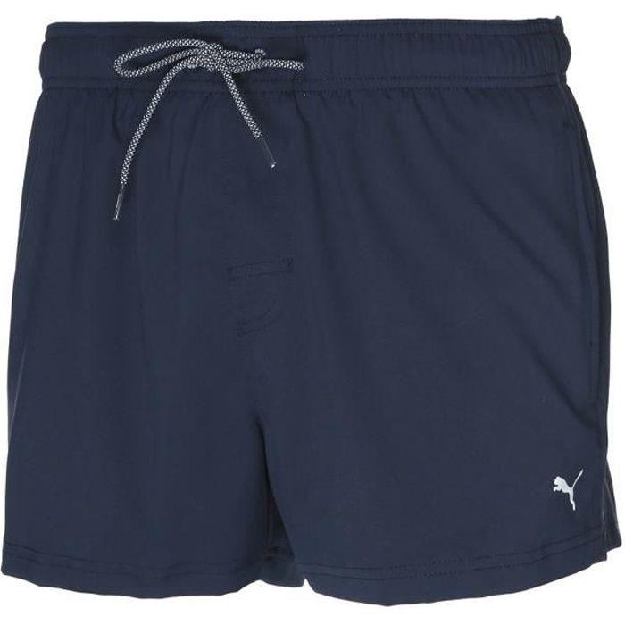 Puma Swim Men, Short de Bain -Short Length Swim- Navy