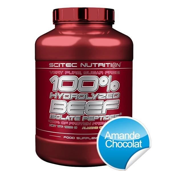 100% HYDROLYZED BEEF ISOLATE PEPTIDES - 1800g -...
