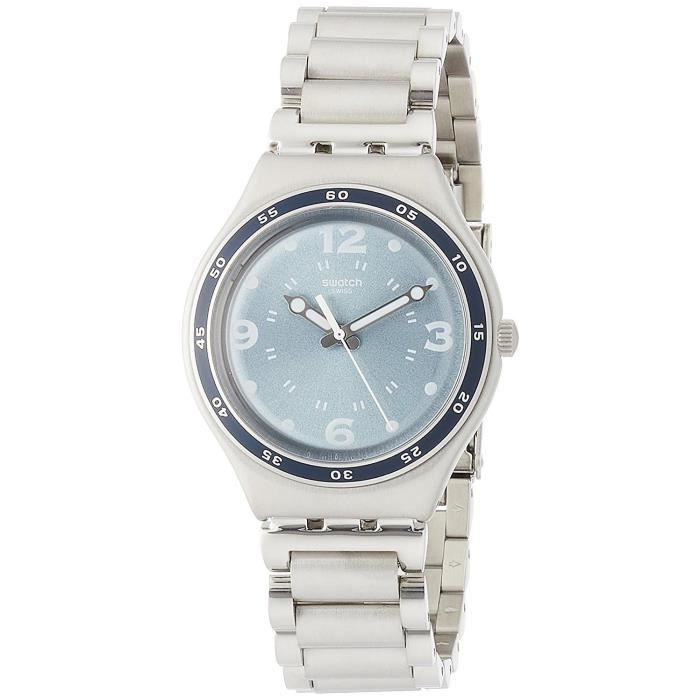 Swatch Spicetery Homme 43mm Bracelet Acier Inoxydable Quartz Montre YGS134G