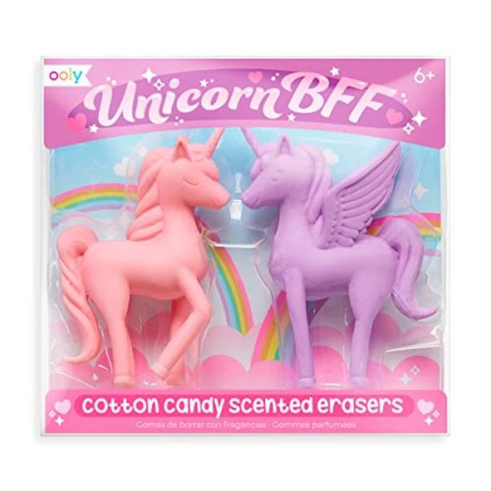 Jeu De Coloriage Clf6m Unicorn Bff Cotton Candy Scented Erasers School Supplies For Set Of 2 Achat Vente Jeu De Coloriage Dessin Pochoir Cdiscount