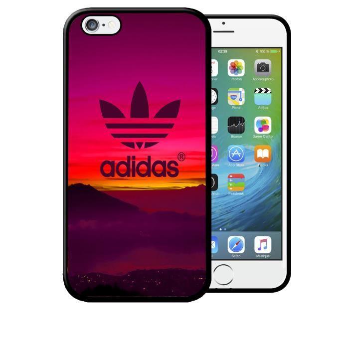 Coque iPhone 6 PLUS Adidas Coucher de Soleil Rose